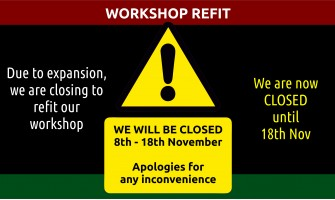 Closed for refit