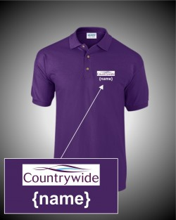 Countrywide Purple Polo