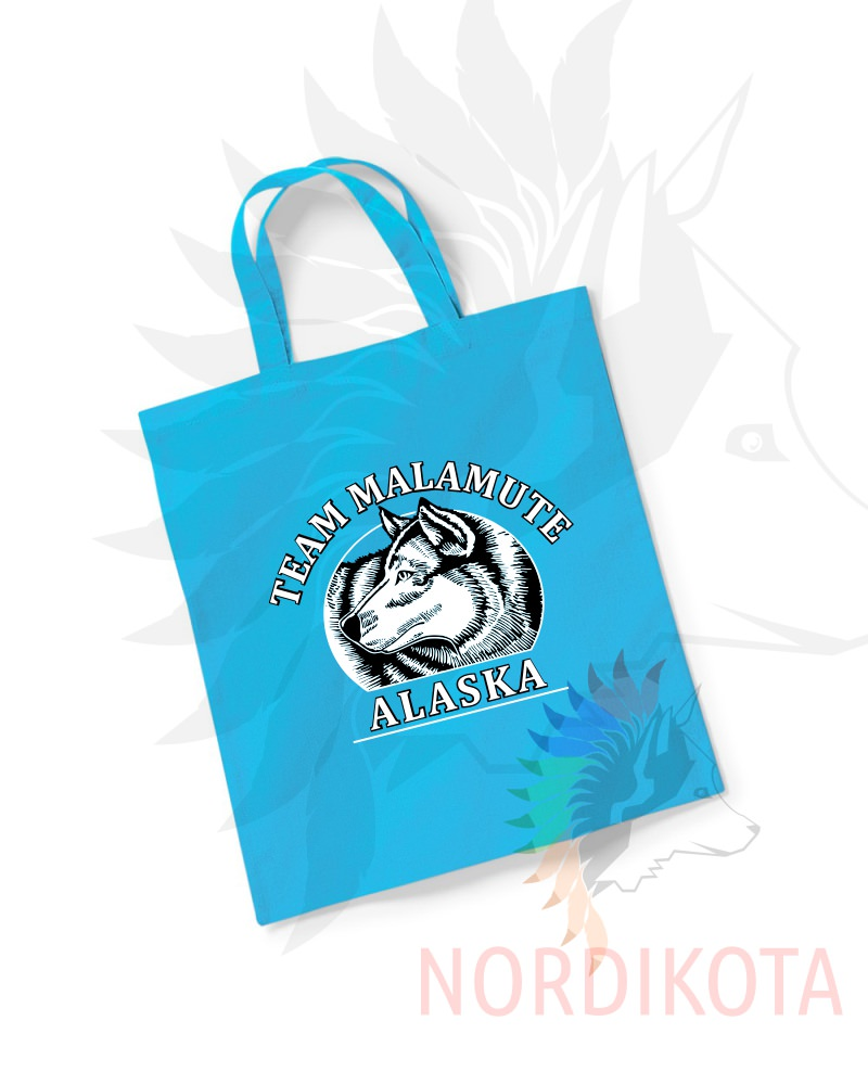 Team Malamute Tote Bag