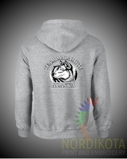 Team Malamute Zipped Hoody