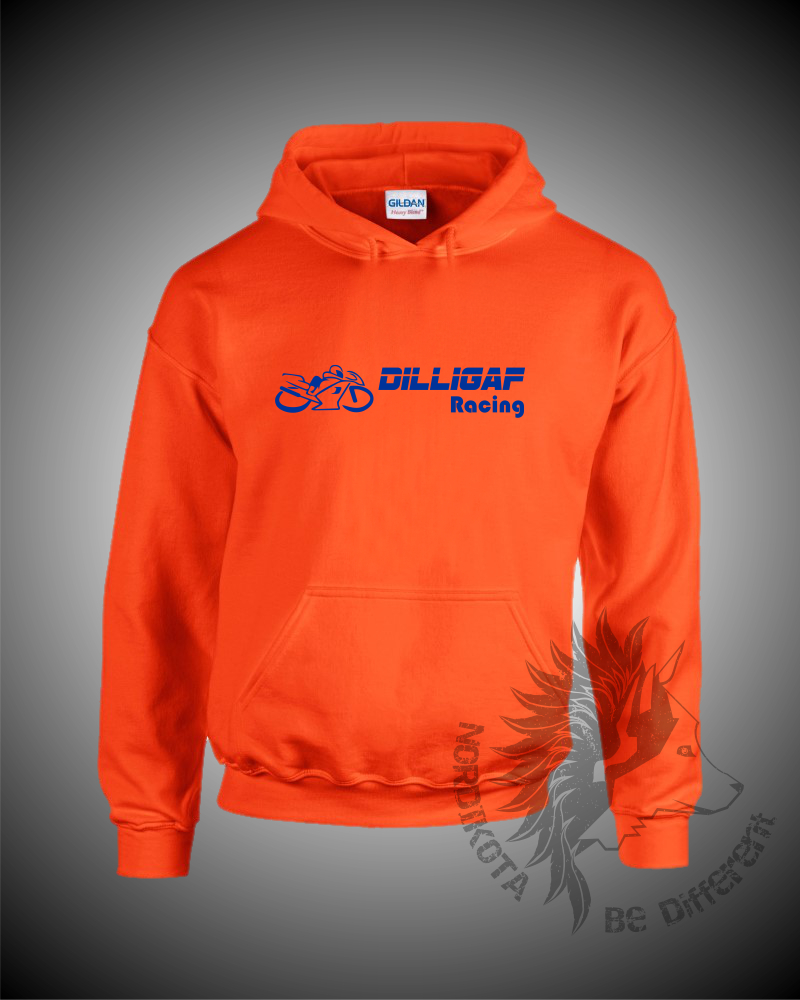 Dilligaf Hoody (Orange)