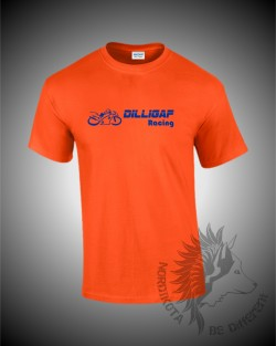Dilligaf T-shirt (Orange)