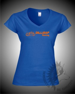 Dilligaf Lady-fit V-Neck