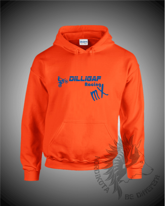 Dilligaf MX Hoody (Orange)