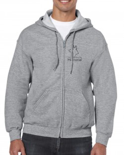 SPDM Zipped Hoody