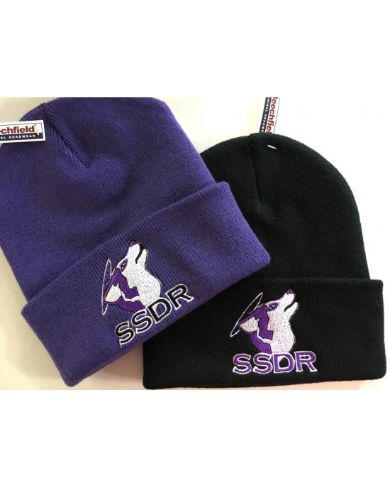 SSDR Embroidered Beanie