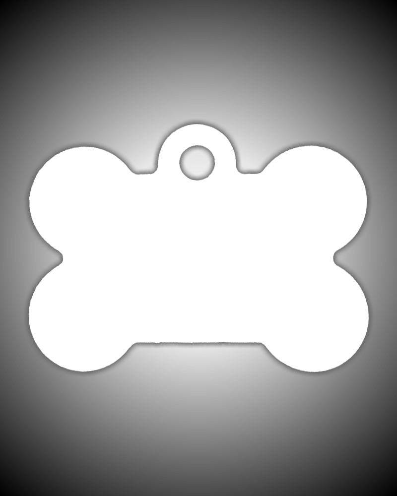 Dog Tag - Bone Shaped