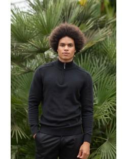 Wakhan ¼ zip knit sweater