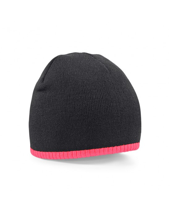 Pull-on Contrast Beanie