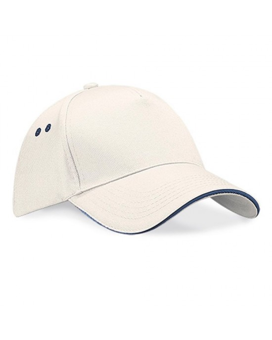 Ultimate 5 Panel Cap Sandwich Peak