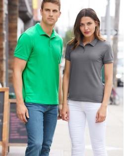 Ladies Double Pique Polo Shirt