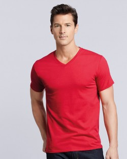 Premium Cotton V-Neck T-shirt