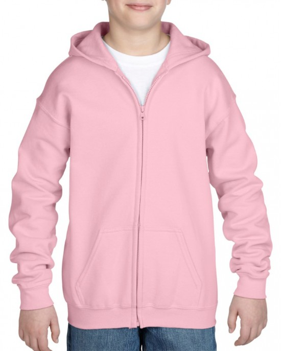 Youth Heavy Blend Zipped Hoody