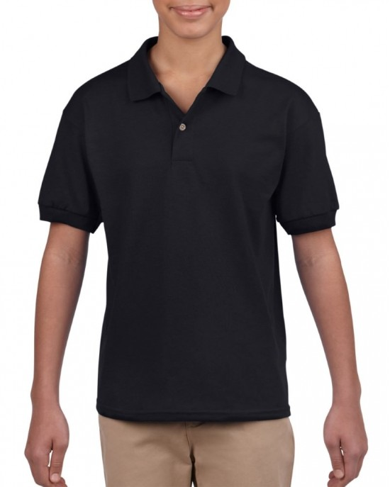 Youth Jersey Knit Polo