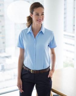 Henbury Ladies Quick Dry S/S Shirt