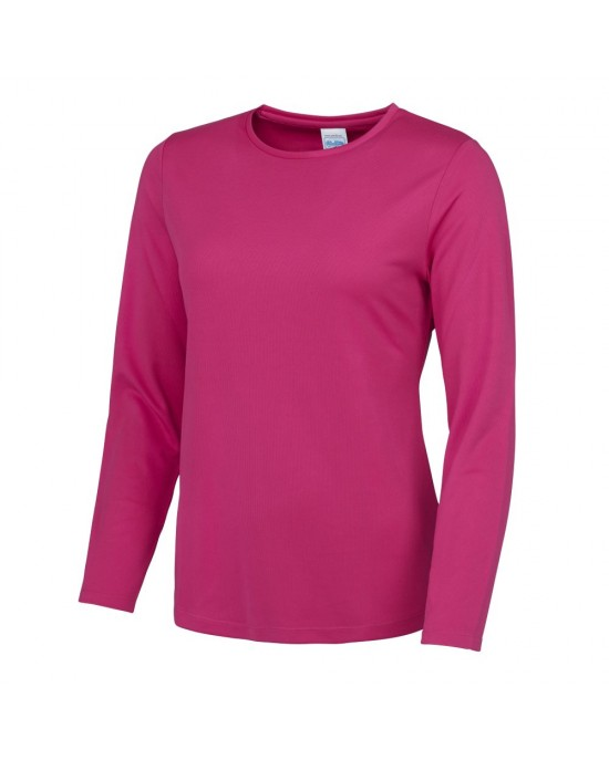 Ladies Long Sleeved Cool T