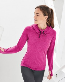 Womens Cool Cowl Neck Top