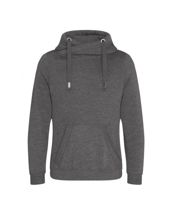 Cross Neck Hoody