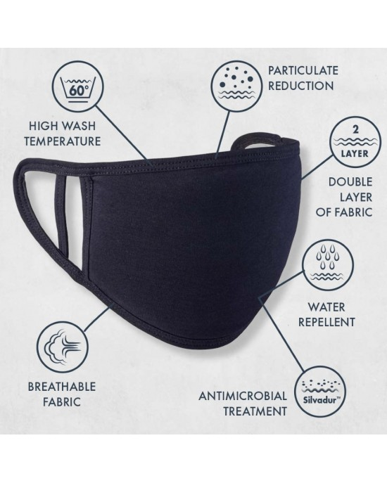 Washable 2-layer Face Covering