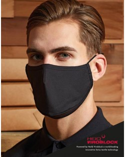 3-layer face mask, powered by HeiQ Viroblock