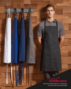 Bib apron, powered by HeiQ Viroblock