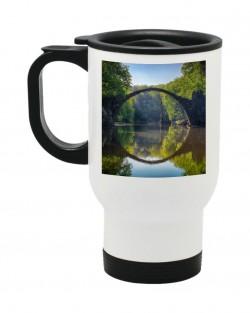 White Reusable Mug