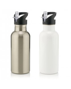 600ml Water Bottle with straw
