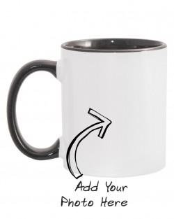 Black Handle + Rim Mugs