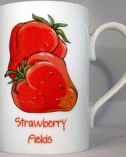 8oz Porcelain Mugs
