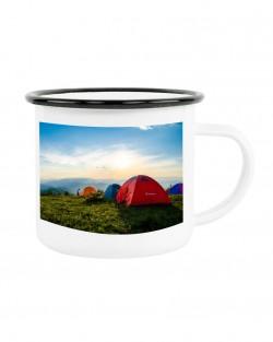 Enamel 10oz Camping Mugs