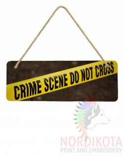 Wooden Hanging Sign (28x10cm)
