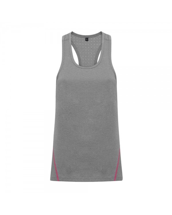 Ladies Laser Cut Vest Top