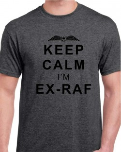 Keep Calm I'm Ex-RAF