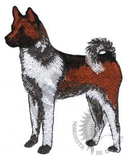 Embroidered Akita Hoody