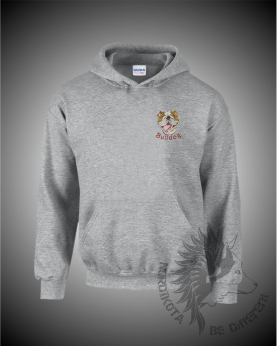 Bulldog Head Hoody
