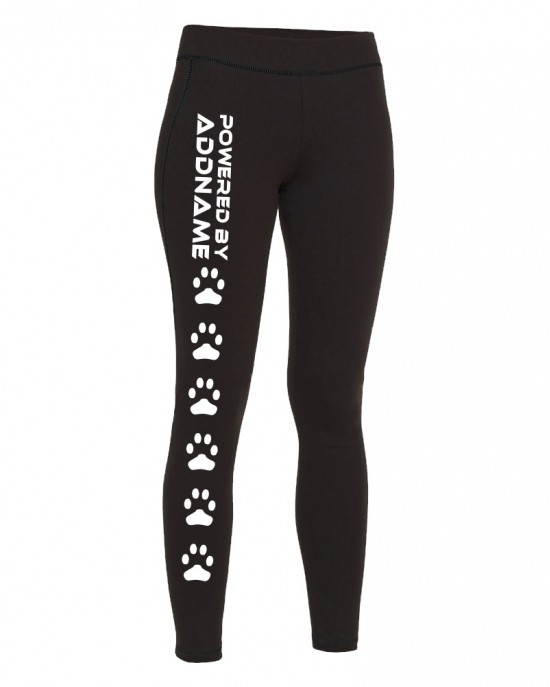 Powered by (Add Name) Leggings