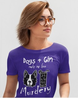 Dogs and Gin Collie