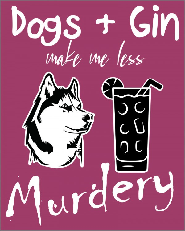 Dogs and Gin Husky