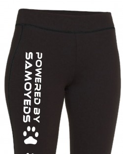 Powered by Samoyeds Leggings