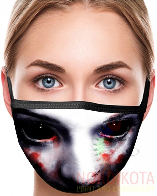 Scary Face Mask