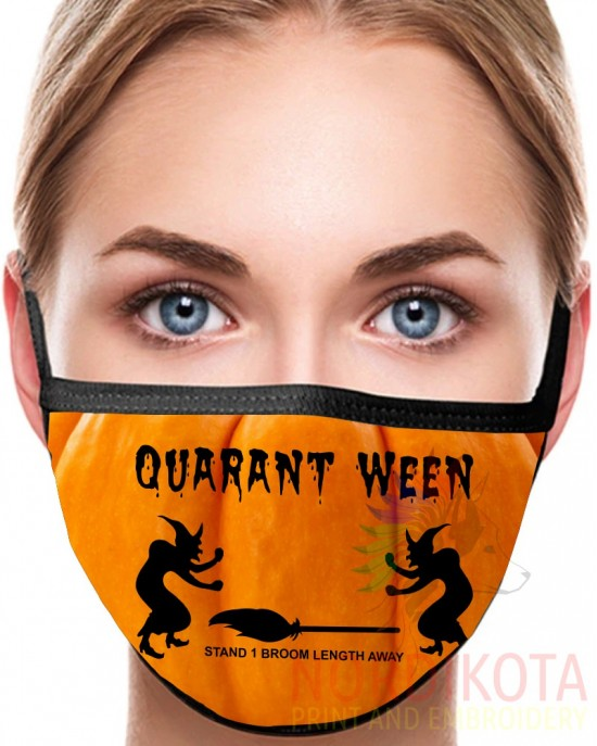 Quarant-Ween Face Mask