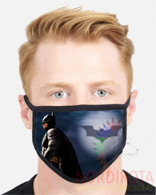 Batman Sign Face Mask