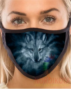 Dream Wolf Face Mask