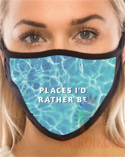 Rather Be Face Mask