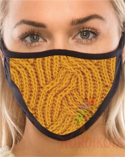 Wool Effect Face Mask