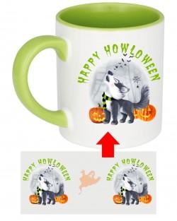 Howloween Husky Howl Mug