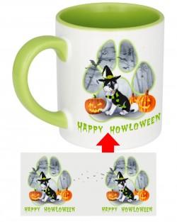 Howloween Husky Paw Mug