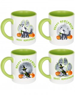 Howloween Mugs Set of 4
