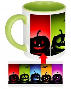 Rainbow Pumpkins Mug