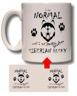 I Was Normal - Husky Mug